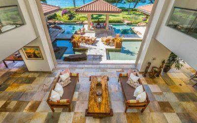 Stunning Multi-Million Dollar Hawaii Beachfront Real Estate in Maui
